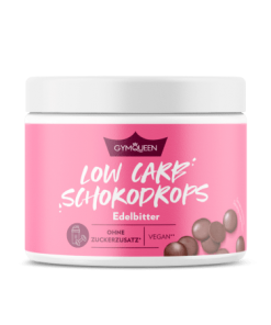 GYMQUEEN Low Carb Chocolate Drops 200 g
